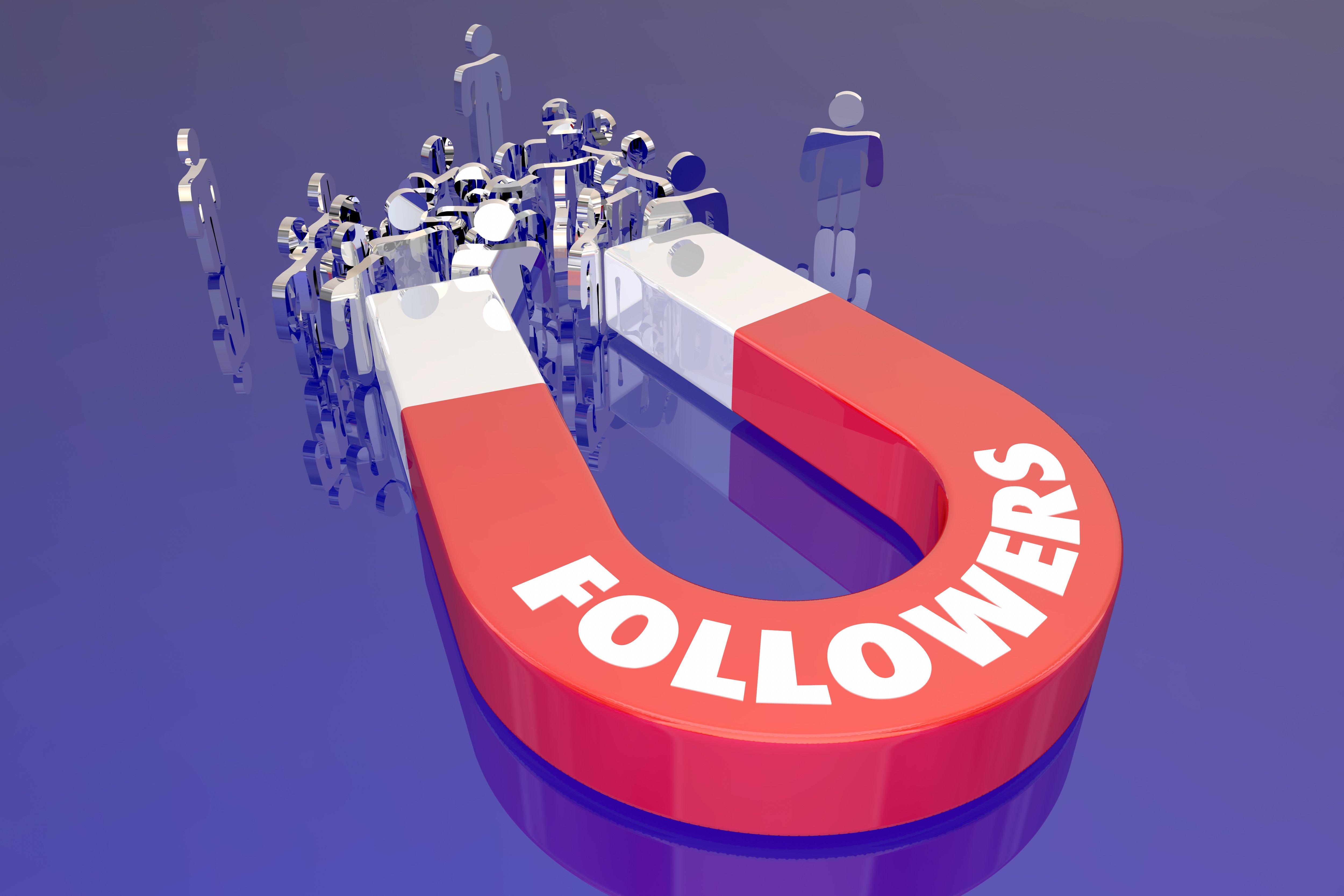 grow social media following