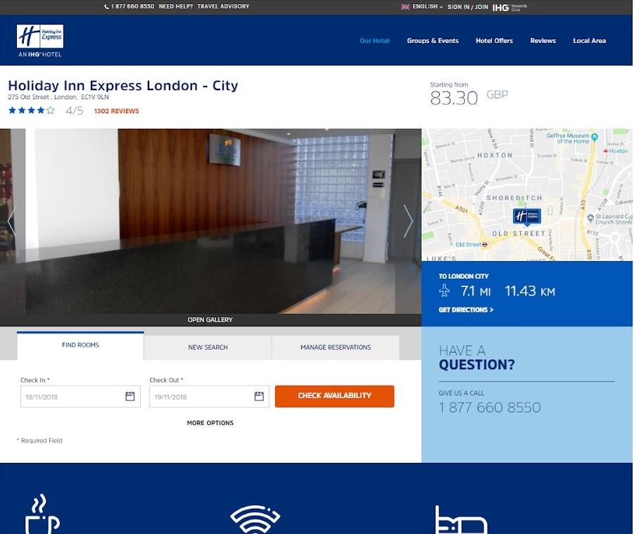 holiday inn express london hotel-1