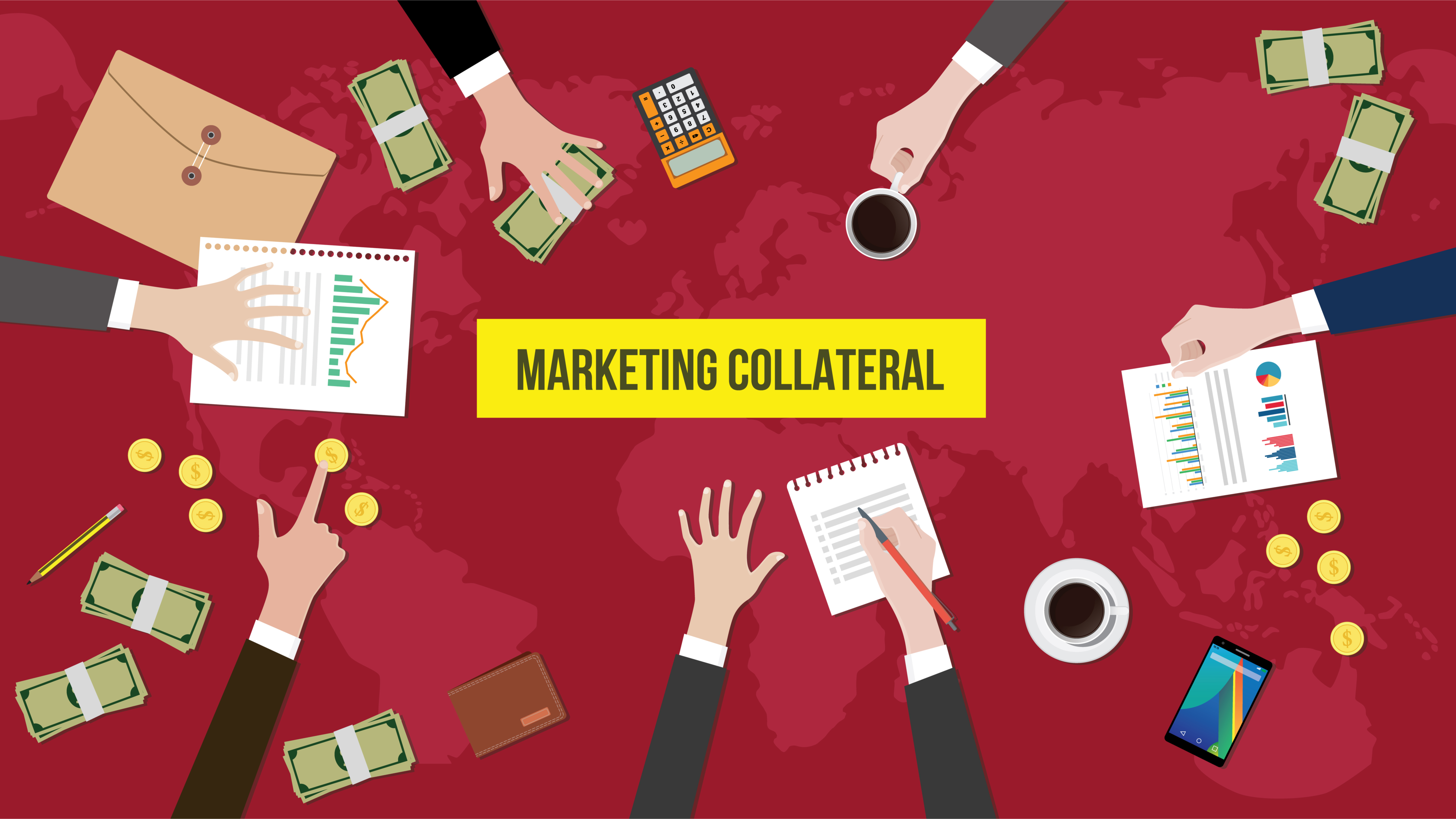 marketing collateral types for 2021