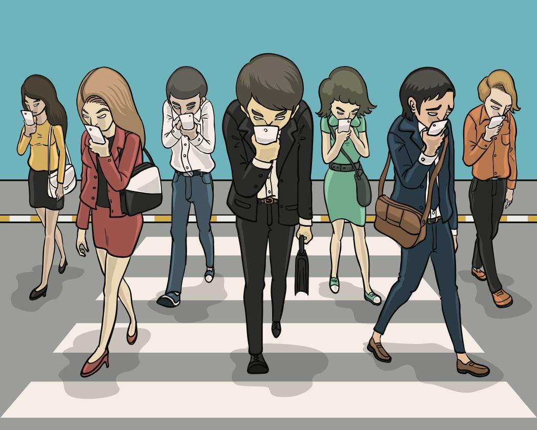 social media addicts