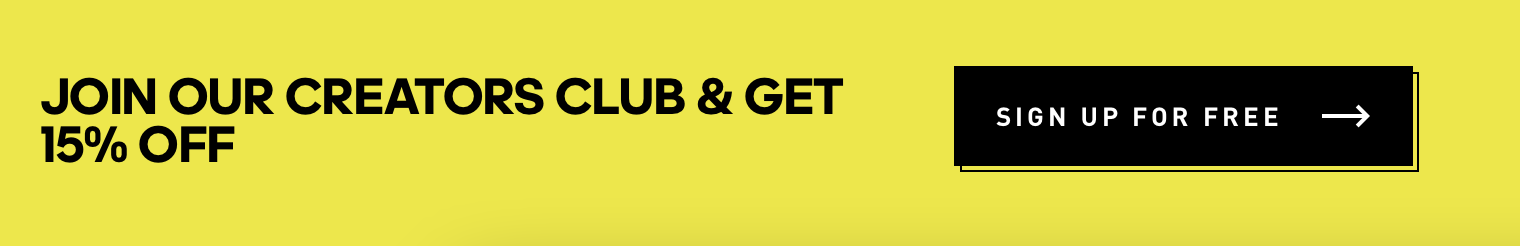 Adidas sign up to join creator club