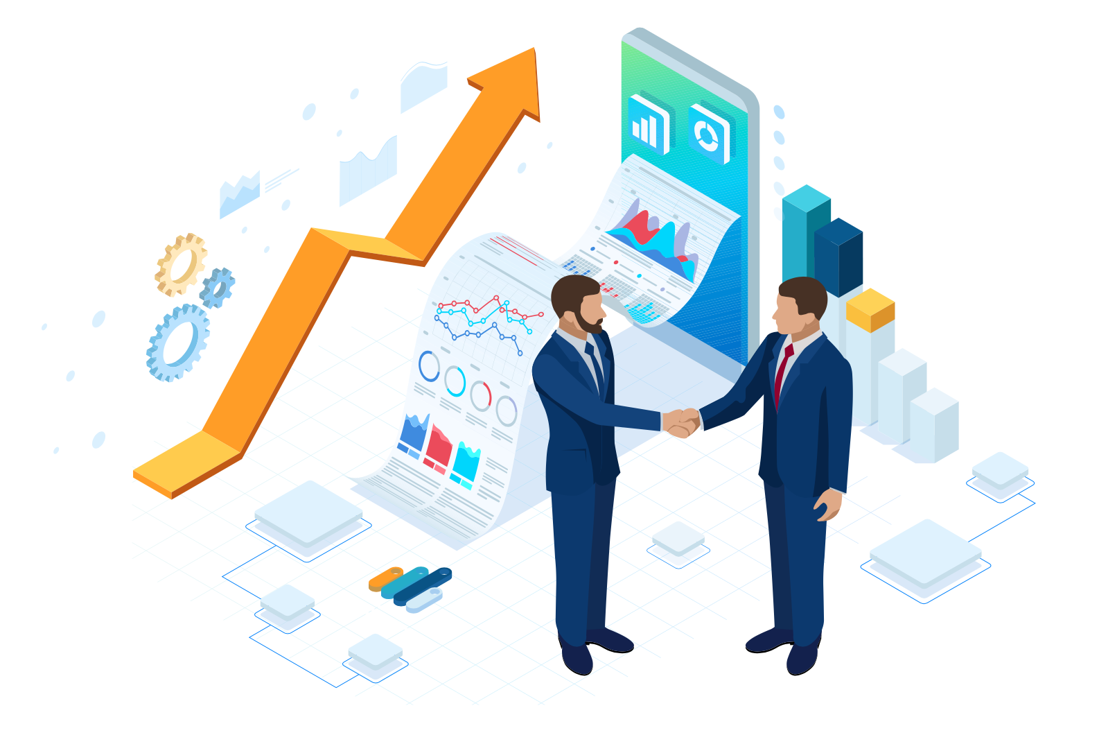 For B2B companies, a strong B2B social media presence will help you to grow your visibility building trust & credibility in your business to help you win new customers.